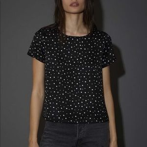 Nation LTD Sateen Dotted Tee